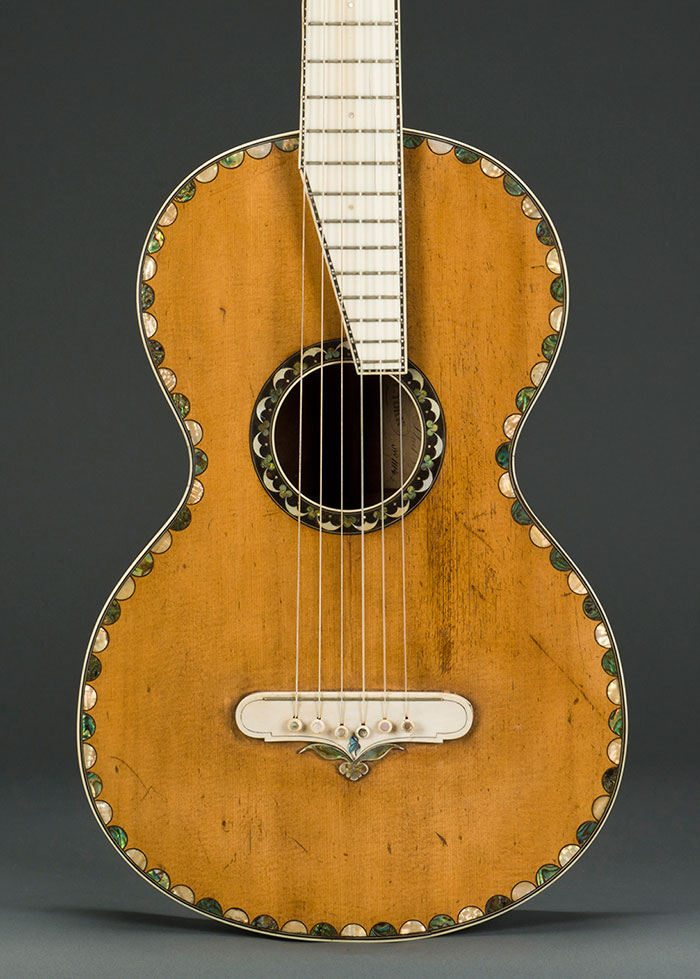 NYC exhibition showcases early American guitar designs