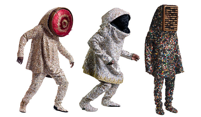 Visionary 'Soundsuits' made for the art gallery and stage