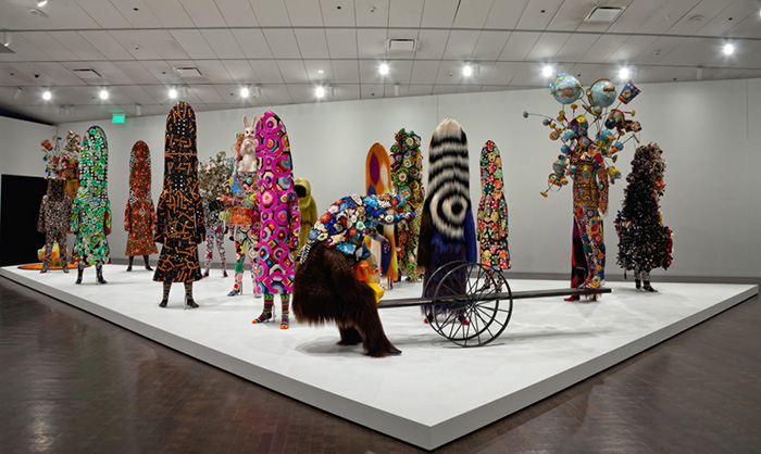 Sojourn -Nick Cave Anschutz Gallery Hamilton Bldg Curated by William Morrow,Nick Cave and Bob Faust