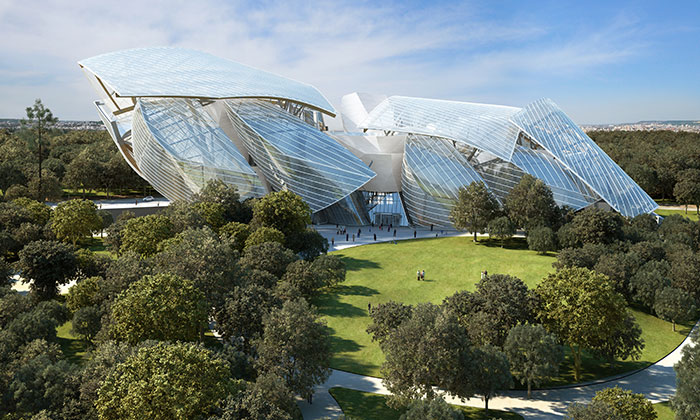 Frank Gehry designs wild Louis Vuitton museum