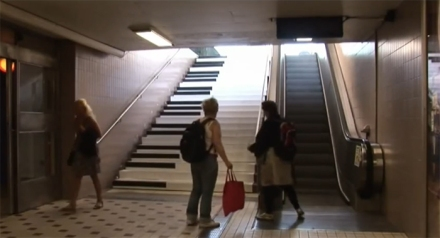 66% more people take the stairs when they are made more fun.
