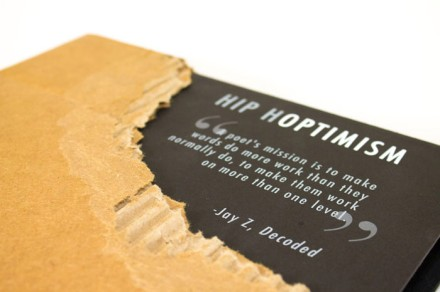 "Illustrated book ""Hip Hoptimism"" celebrates positive poetics"