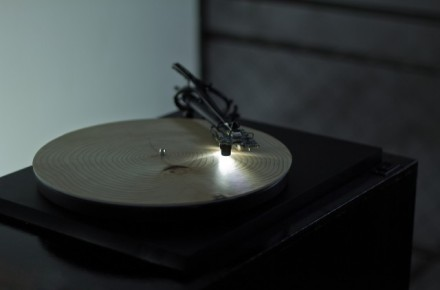"Finding music in nature? This record player plays the ""sound"" of tree rings"