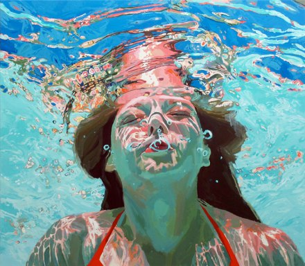 Nostalgic underwater portraits take you back to childhood summer fun