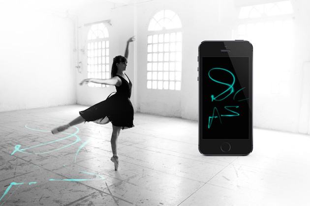 EWearable technology allows ballet dancers to create flowing drawings