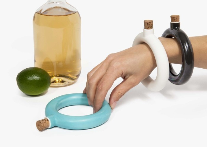 The Wrist Flask A New Way To Carry A Nip Of Liquor