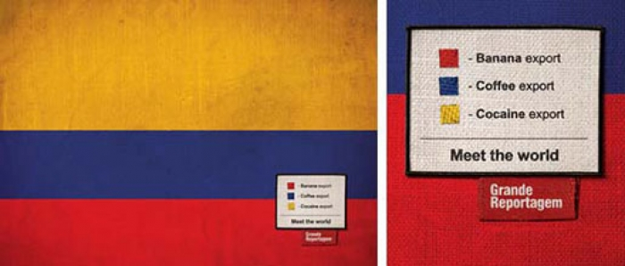 8 flags visualize shocking inequalities in their countries