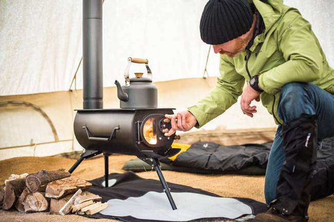 Portable woodstove adds warmth to your next adventure